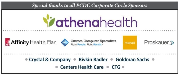 Corporate Circle Sponsor Thanks