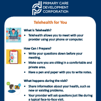 Telehealth Flyer for Patients