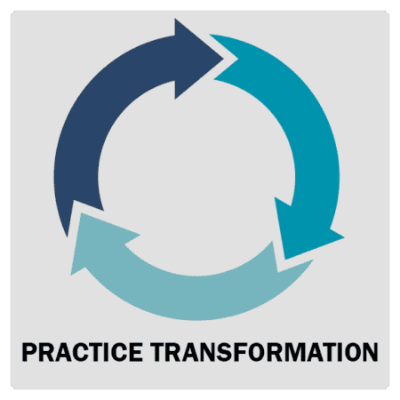 Training and Technical Assistance Practice Transformation Icon