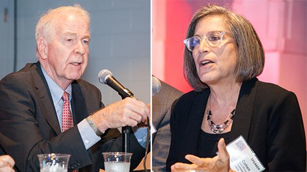 Kemp Hannon and Louise Cohen